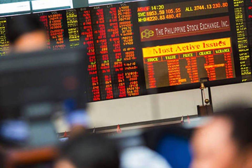 Operadores na bolsa das Filipinas