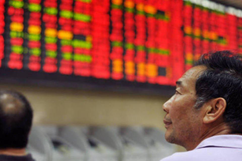 Bolsas da Ásia - bolsa de Xangai