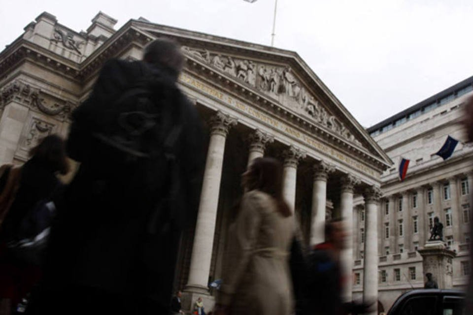 Sede do Banco da Inglaterra em Londres, no Reino Unido