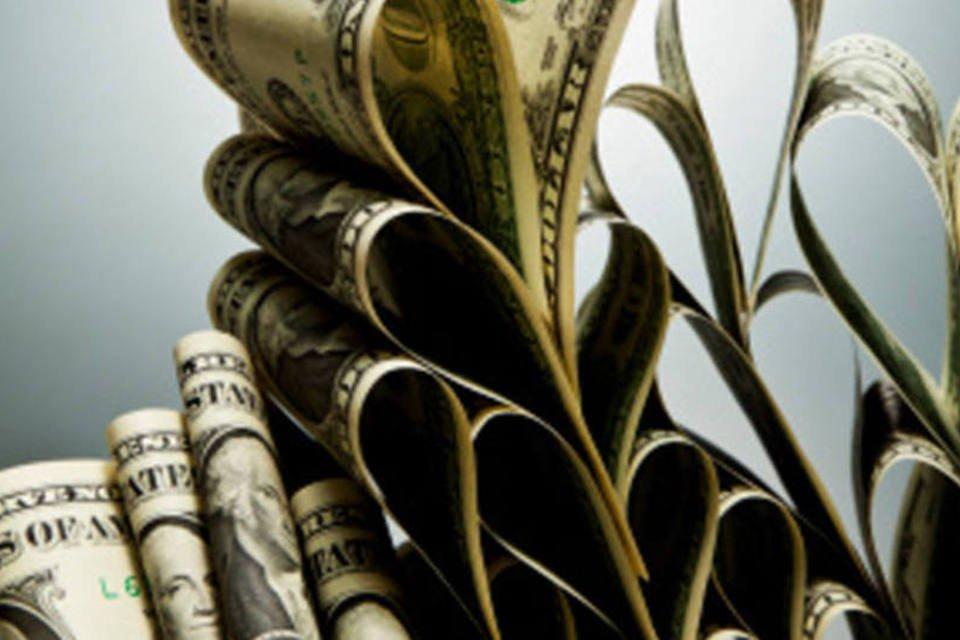 Dinheiro: cédulas de dólar