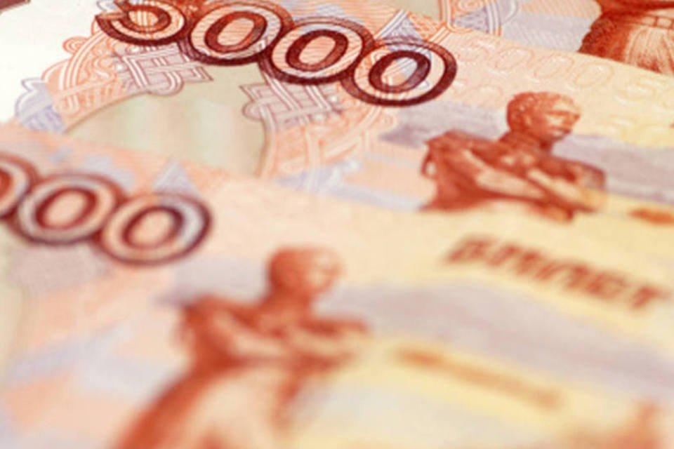 Notas de rublo russo