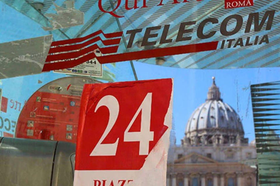 Cabine telefônica da Telecom Italia