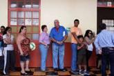 Fila para votar na Costa Rica