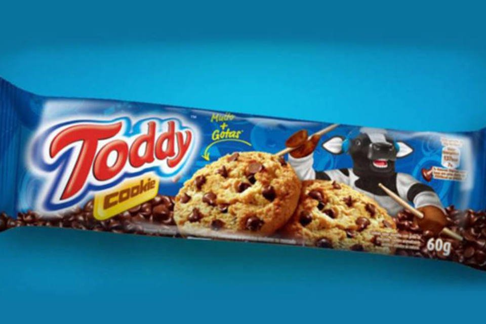 Cookie de Toddy lançado pela Pepsico
