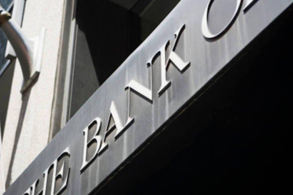 Fachada do Bank of America