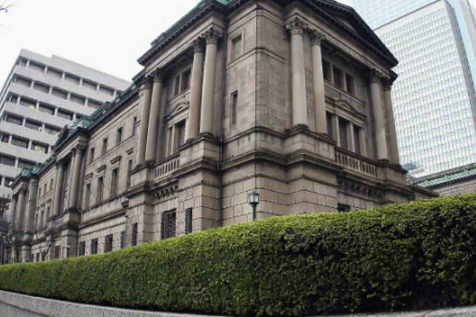Sede do Banco do Japão (BoJ) em Tóquio