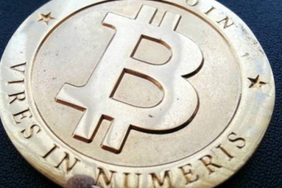 A moeda virtual Bitcoin