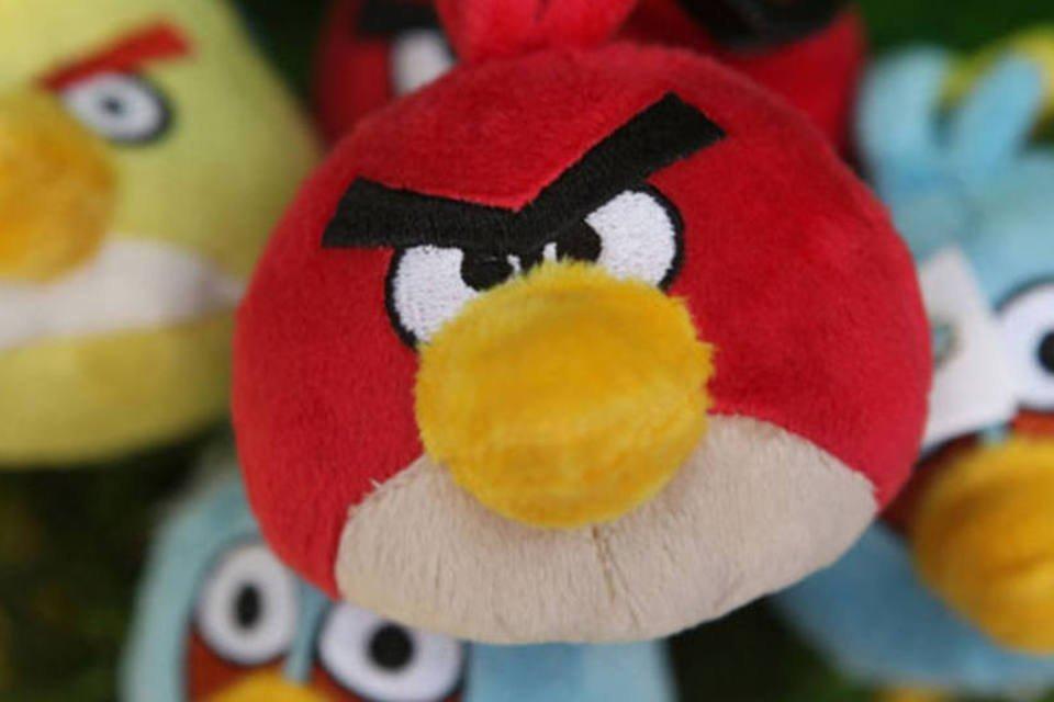 Bonecos do Angry Birds