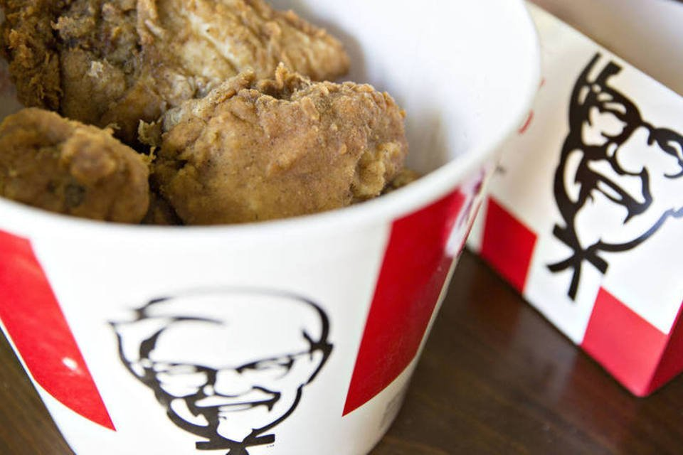 Balde de frango do KFC