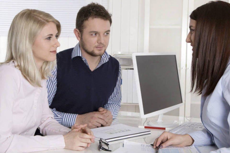 Bancários e profissionais de finanças
