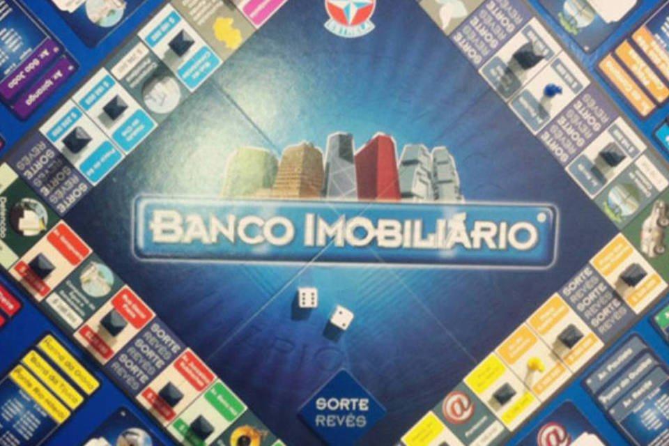 Jogo Banco Imobiliário, da Estrela