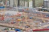 Construção da arena de Basquete para os Jogos Olímpicos de Londres
