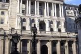 Prédio do Banco Central britânico, em Londres