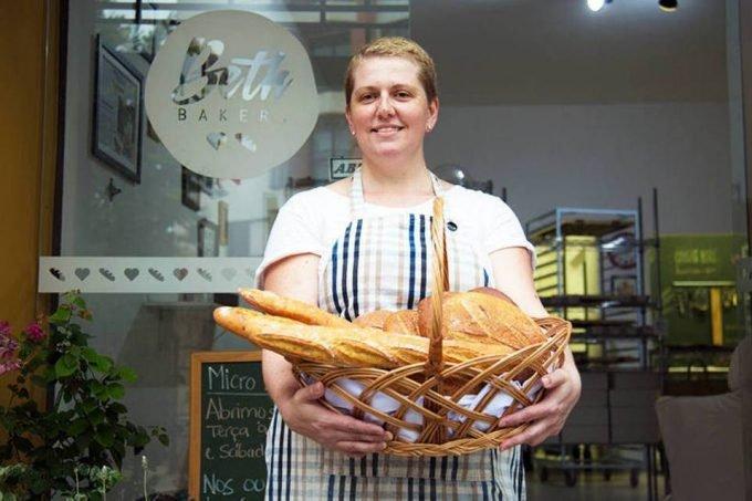 Beth Viveiros, que criou a padaria Beth Bakery