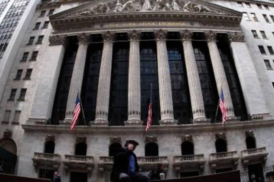 Fachada da Bolsa de Nova York