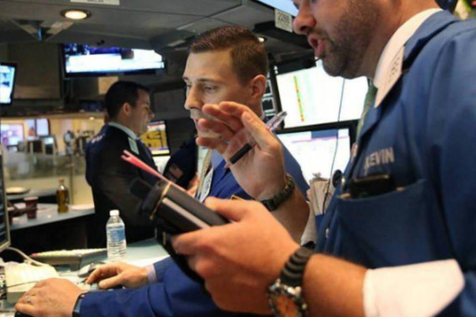 Investidores da Bolsa de Nova York