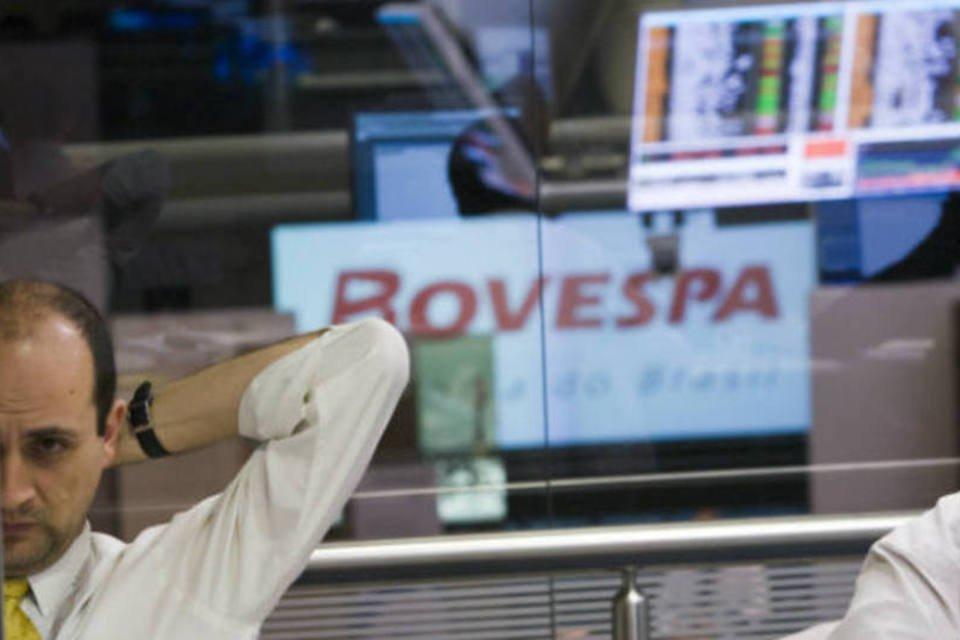 Operadores da Bolsa de Valores de São Paulo, a Bovespa