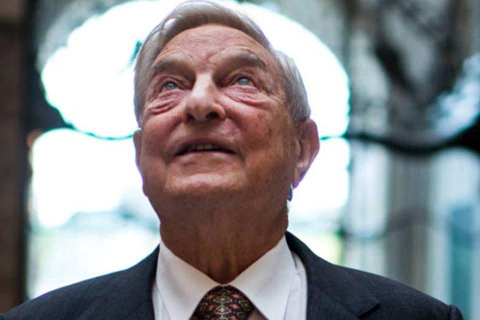 George Soros, fundador do Soros Fund Management, posa para uma foto durante uma entrevista em Budapeste, na Hungria