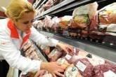 Estande de carnes em supermercado