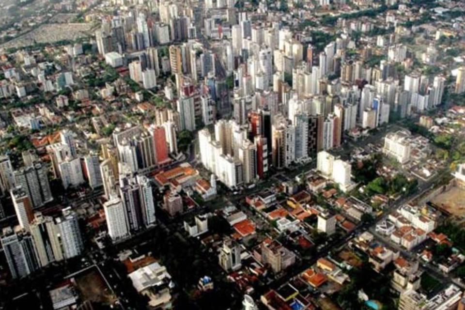Vista aérea do Centro de Curitiba