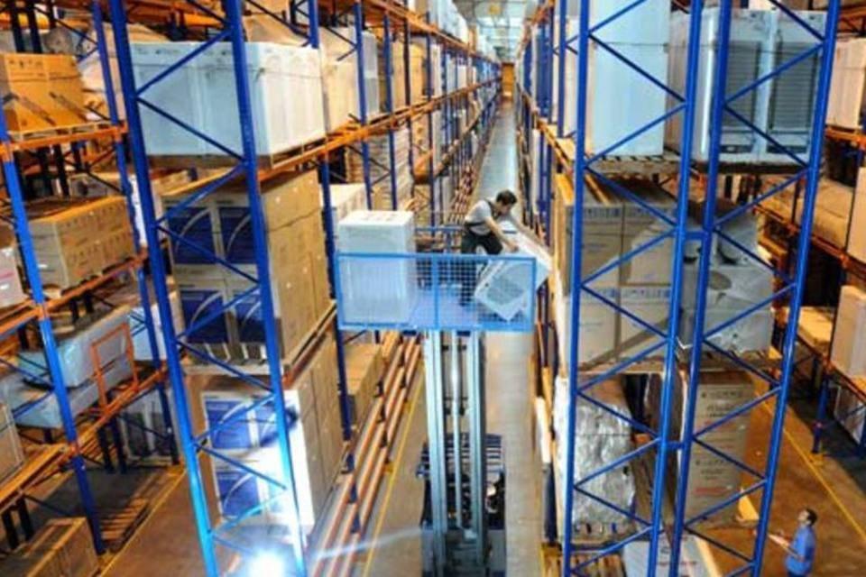 Centro de distribuição do Magazine Luiza, em Louveira (SP),