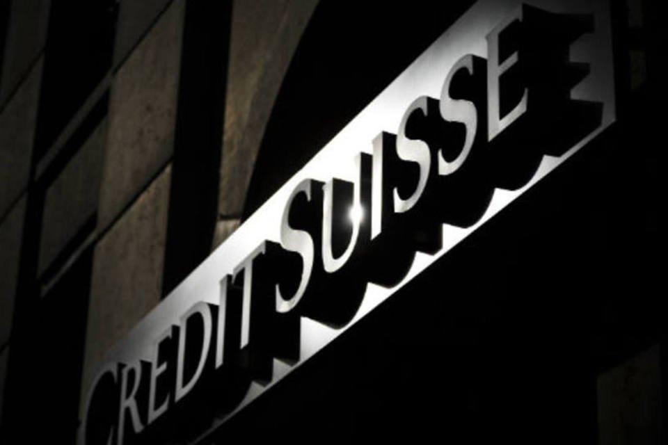Fachada do banco Credit Siusse
