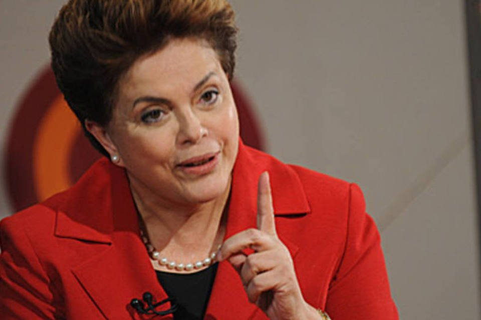 Dilma Rousseff, candidata do PT