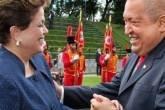 Dilma e Chávez
