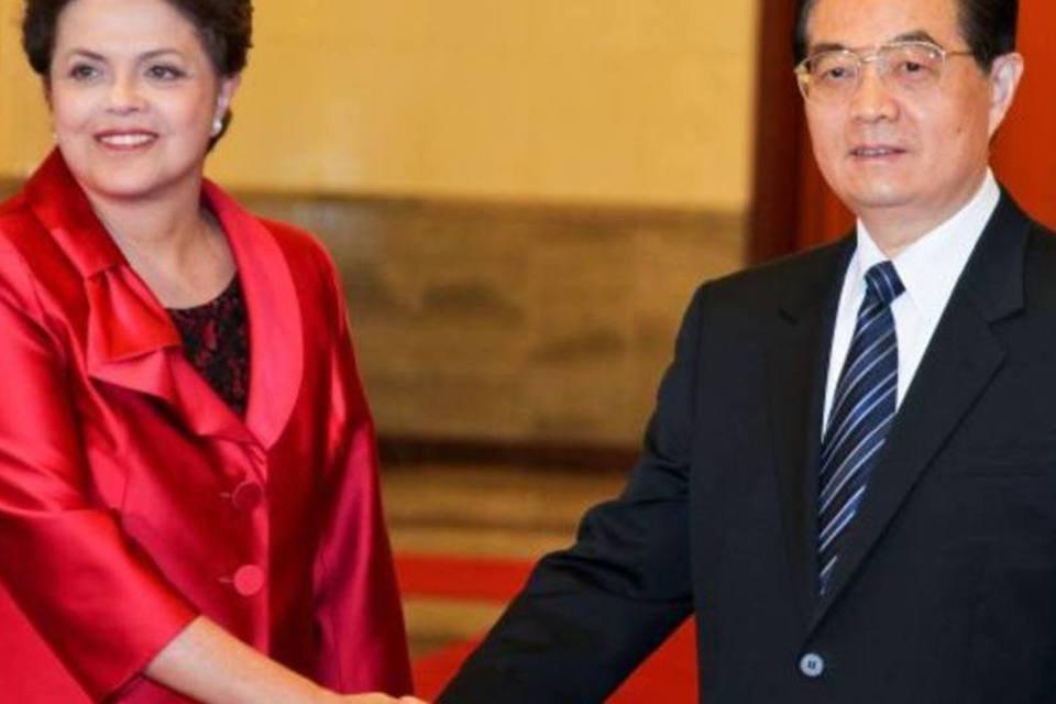 Dilma e Jintao na China