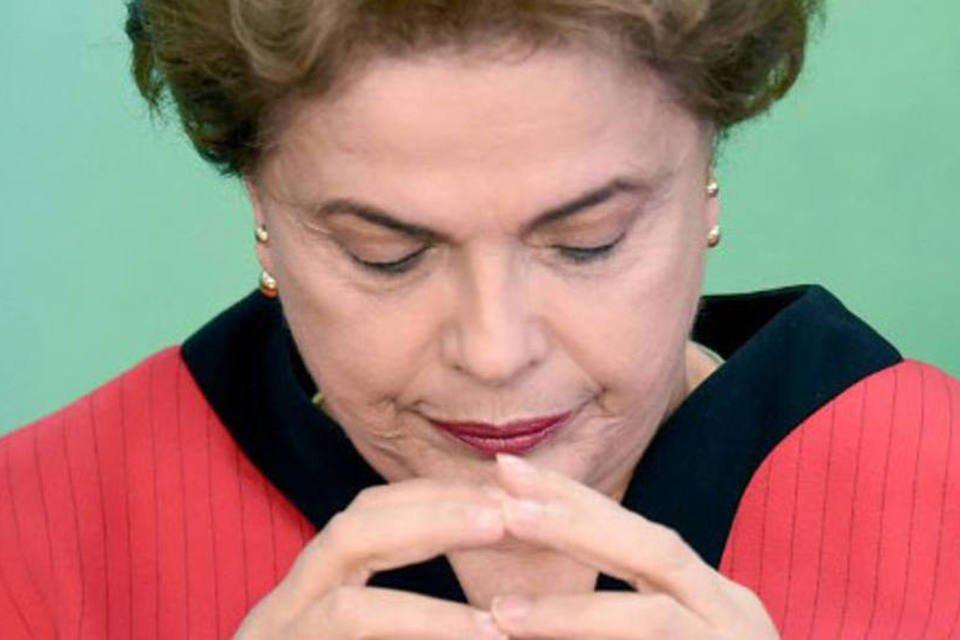 Presidente Dilma Rousseff durante reunião sobre acordo da Samarco, dia 02/03/2016