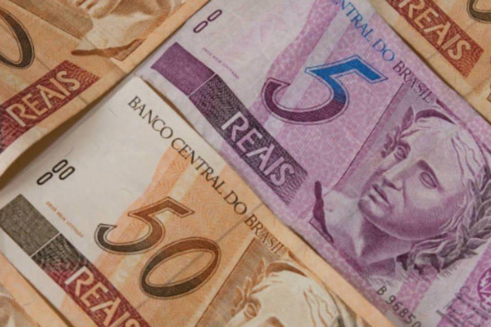 Notas de Real - dinheiro