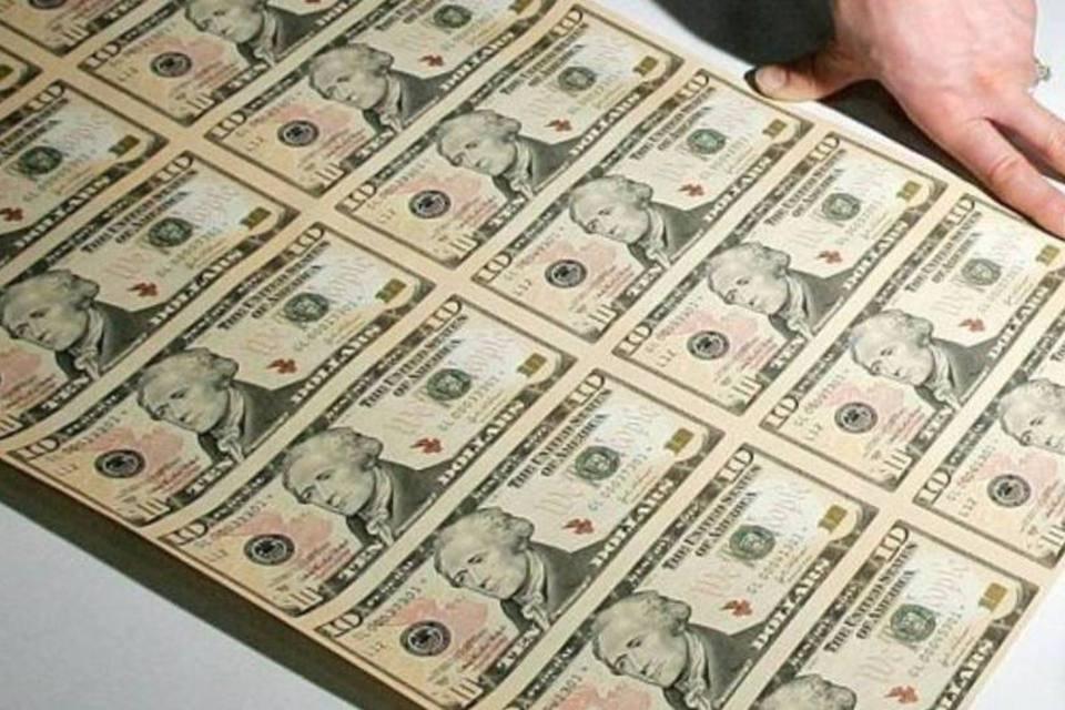 Dólar em notas