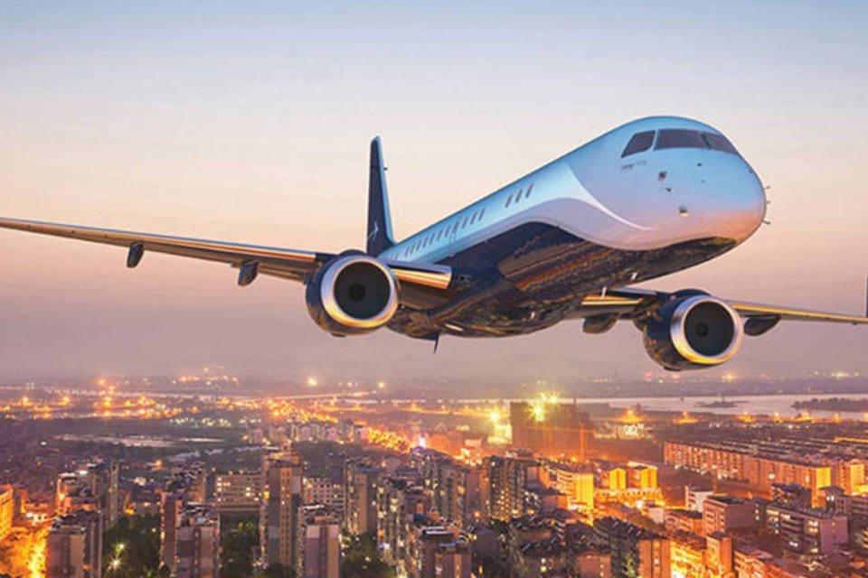 Lineage 1000-E da Embraer