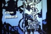 Logotipo do ETA em protesto de grupo de presos no dia 2 de junho