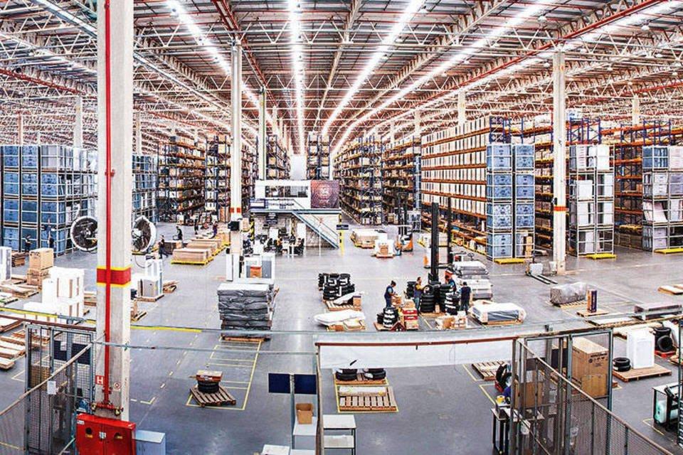 Centro de distribuição da CNOVA
