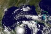 Imagem de satélite do furacão Karl