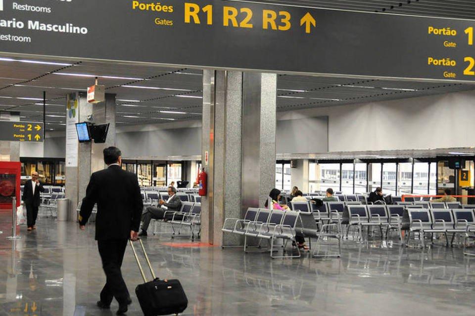 Aeroporto do Galeão, no Rio de Janeiro