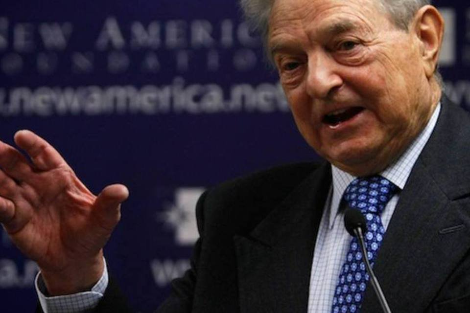 George Soros dá palestra