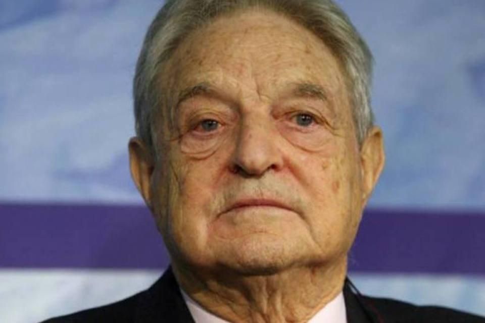 O bilionário George Soros