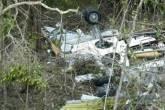 Boeing da Gol destruído após acidente com Legacy