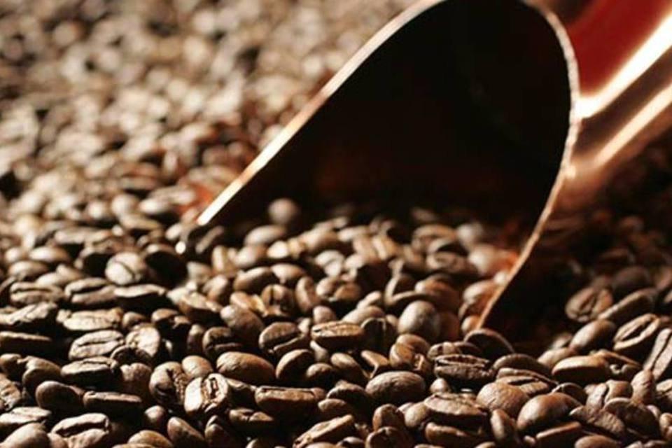 Grãos de café