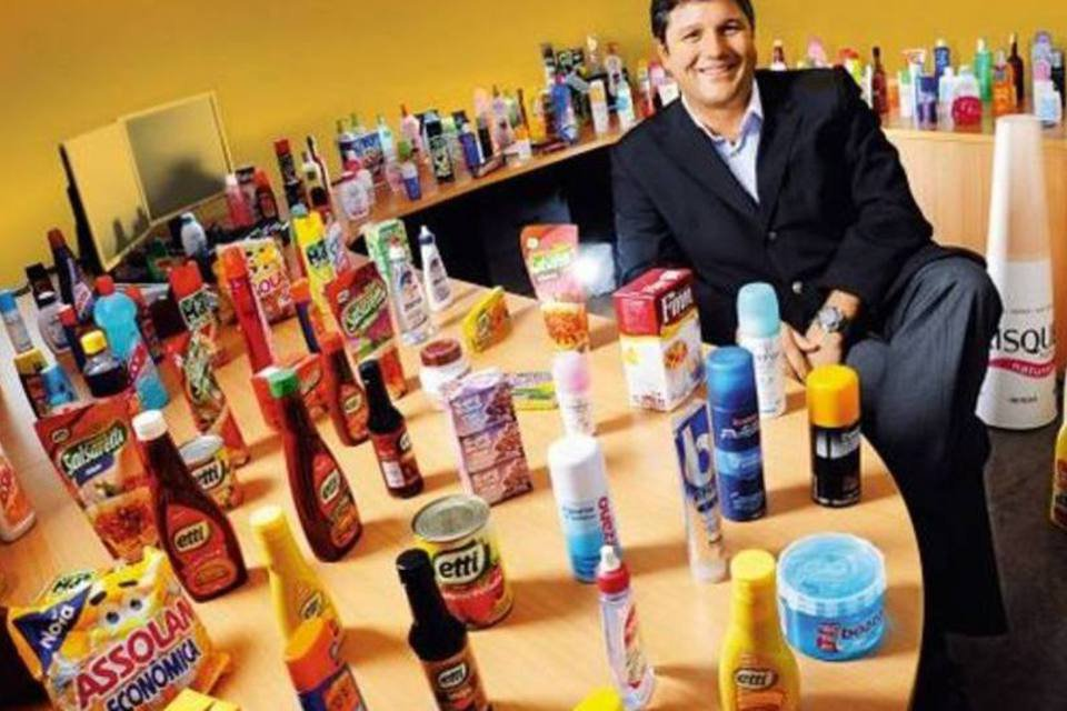 presidente hypermarcas com produtos