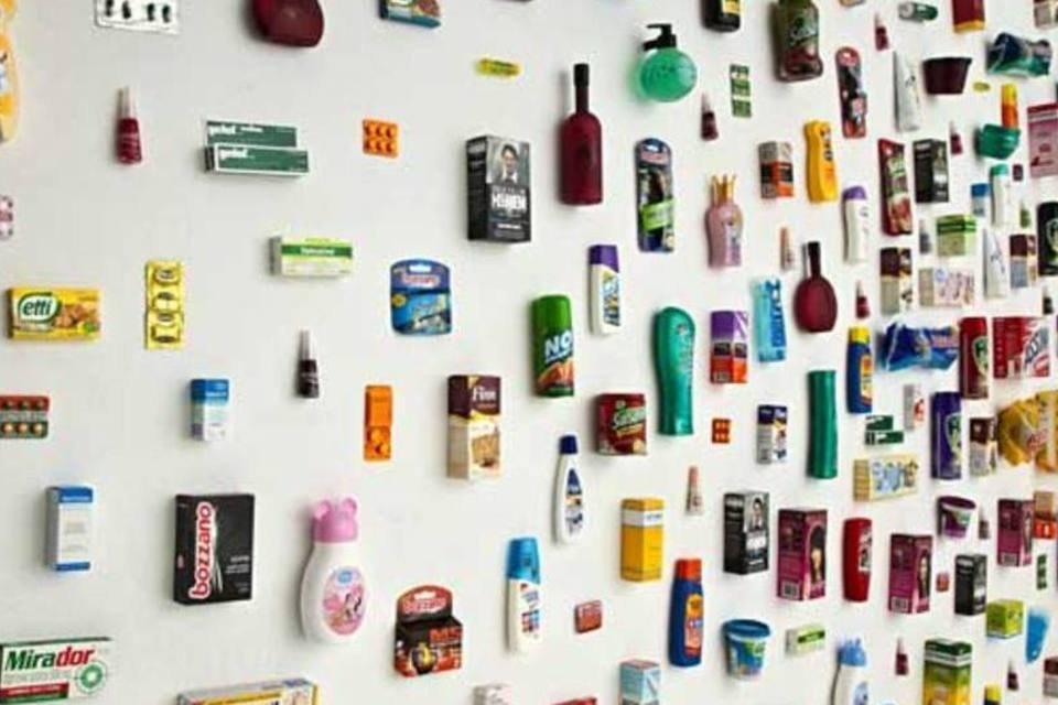 Produtos de várias marcas, do portfólio da Hypermarcas