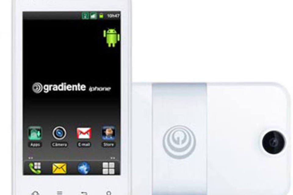 iPhone da Gradiente