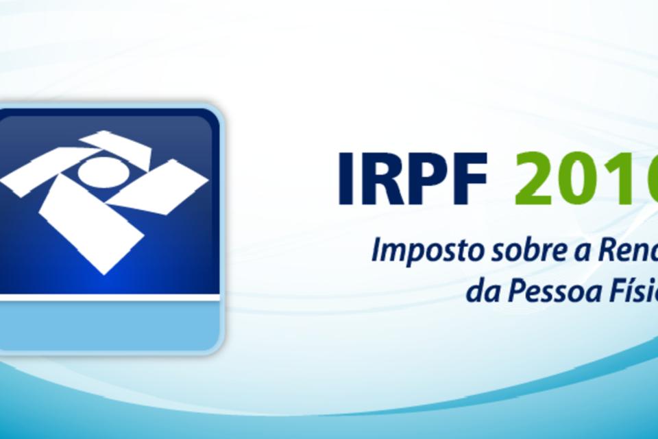 Logo do Imposto de Renda 2016