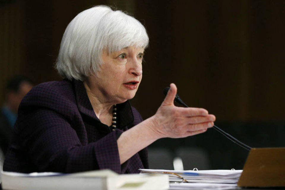 Chair do Federal Reserve, o banco central norte-americano, Janet Yellen