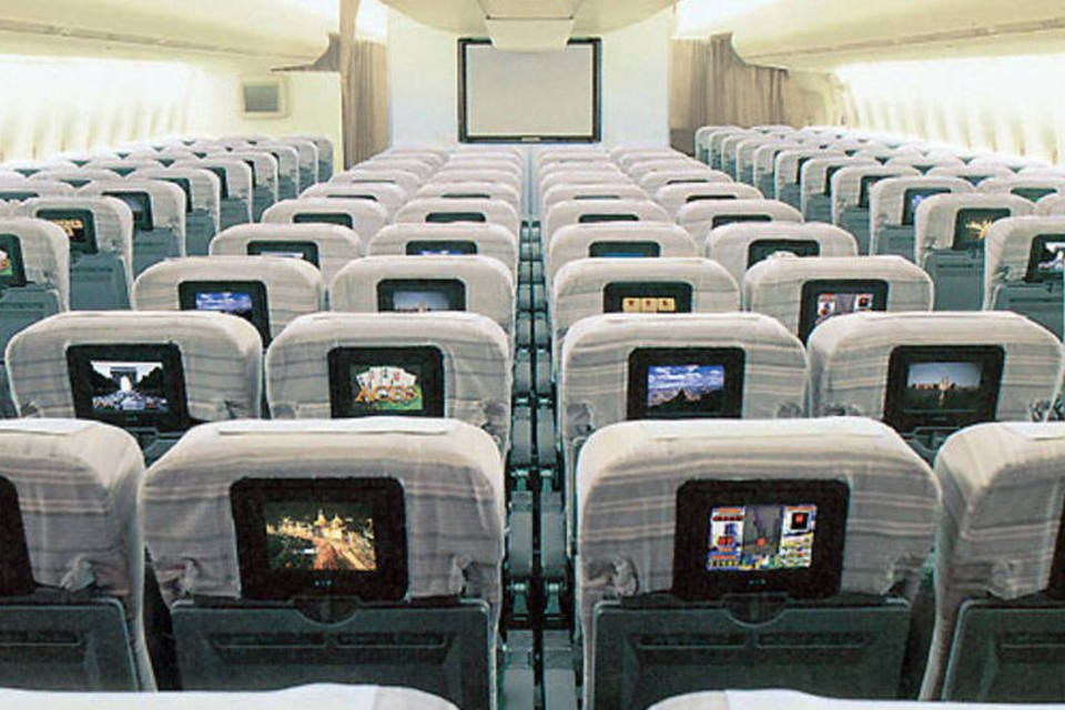 Avião da Japan Airlines