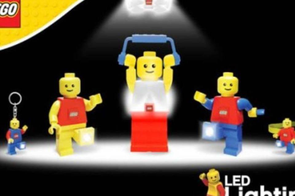 Lego lança brinquedos com luz