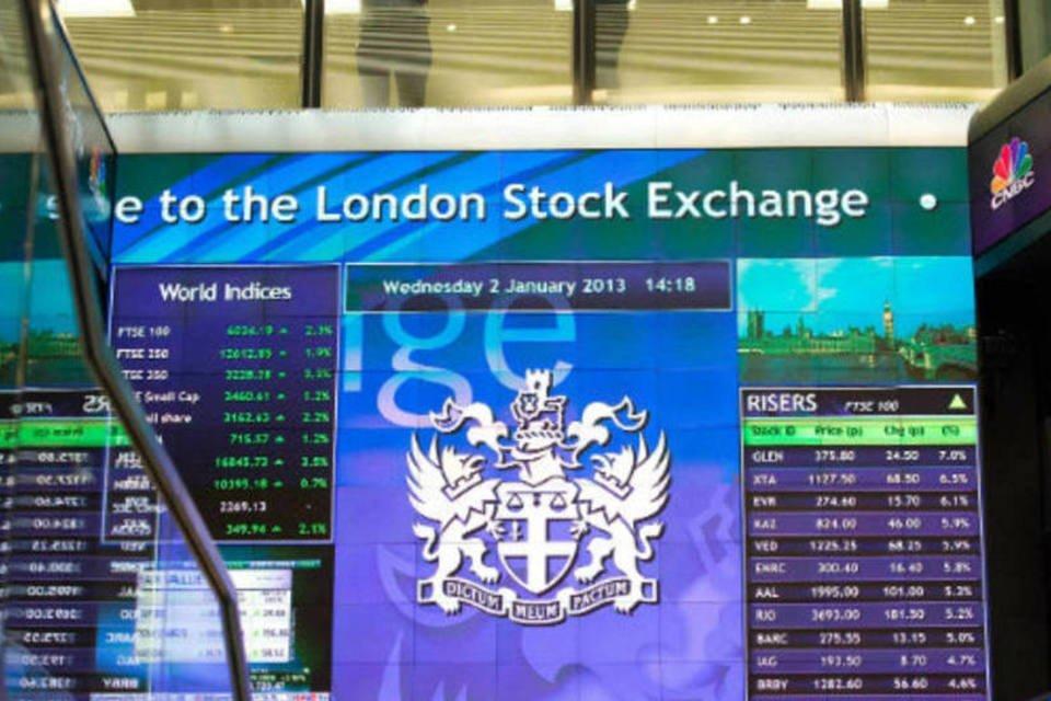 Bolsas da Europa - Bolsa de Londres