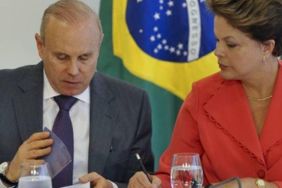 Mantega e Dilma